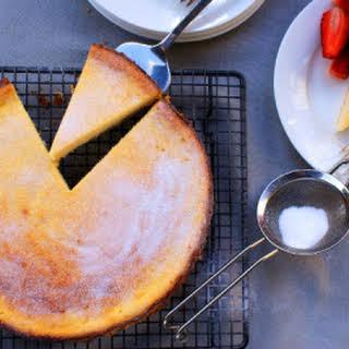 Gluten Free Corsican Cheesecake (Fiadone Corse).