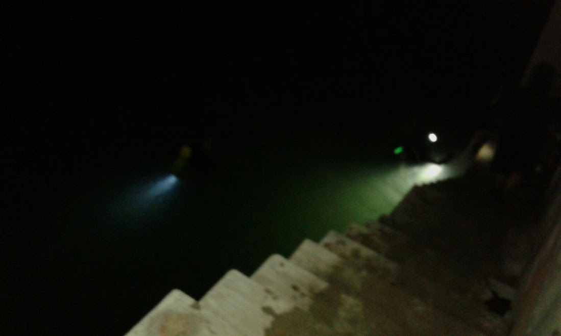 13/1 -  Buceo Nocturno en la Escollera Norte 1