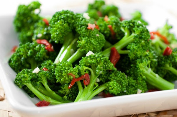 Steamed Broccoli With Ginger Recipe