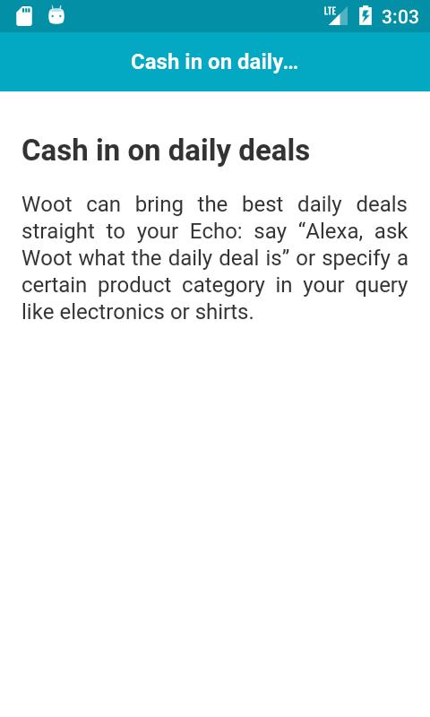 Best Amazon Alexa Skills Android 2