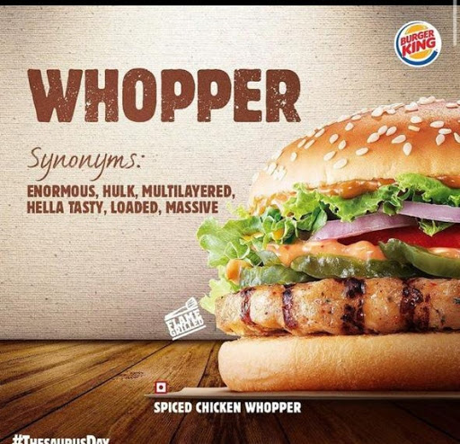Burger King menu 4