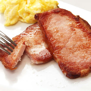 Overnight Sous Vide Canadian Bacon or Breakfast Ham.