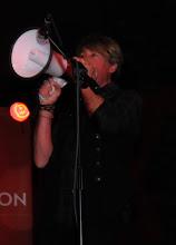 Photo: Paul Oakley on da loudhailer