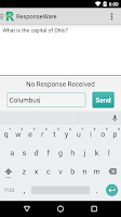 Screenshot of ResponseWare