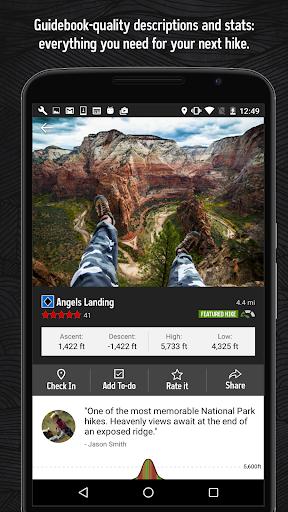 Hiking Project 3.11.0 screenshots 1