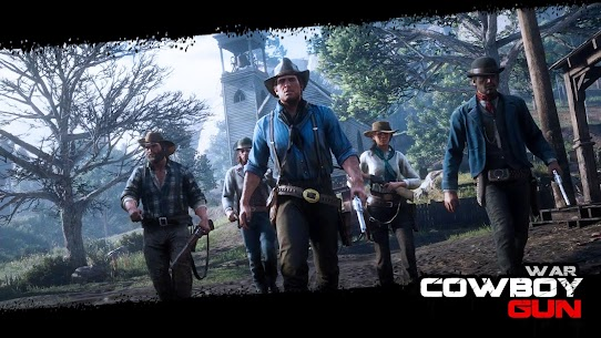 Cowboy Gun War MOD (Unlimited Money) 10