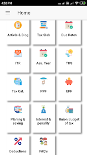 Indian Income Tax Info/Savings/Calculators App Download For Android 1