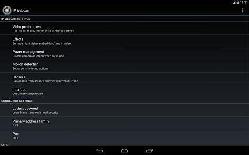 IP摄像头 screenshot 4