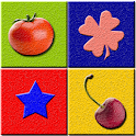 Fruits Vegetables Color Shapes icon