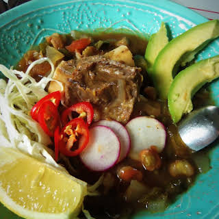 Beef Pozole in the Slow Cooker.