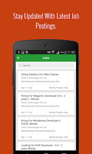 jiTalent - Talent Search App- screenshot thumbnail