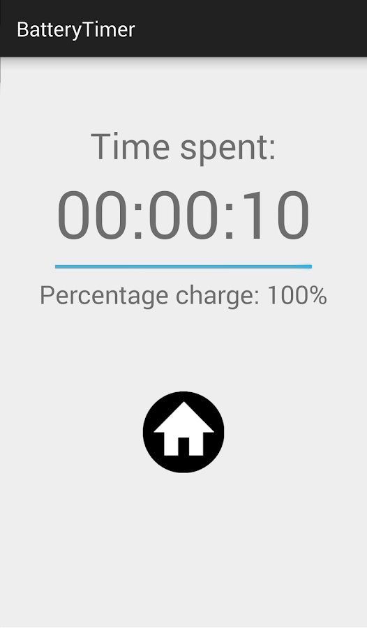 BatteryTimer- screenshot