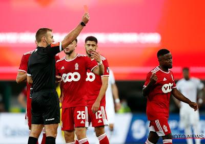 """Collins Fai revient sur son carton rouge contre Anderlecht : """"Trop d'enthousiasme !"""""""