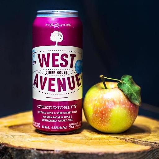 West Ave 'Cherriosity' Cherry Cider 4PACK