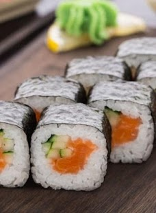 Sushi And Rolls Recipes - náhled