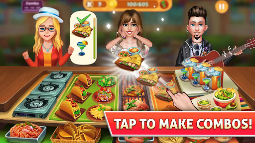 Kitchen Craze: Madness of Free Cooking Games City 2.0.7 screenshots 1