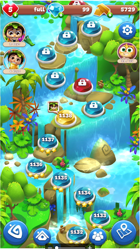 Gemmy Lands: New Jewels and Gems Match 3 Games modavailable screenshots 7