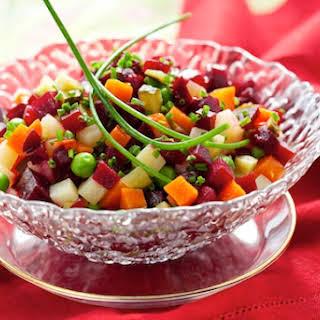 Russian Potato Salad With Beets Recipes.