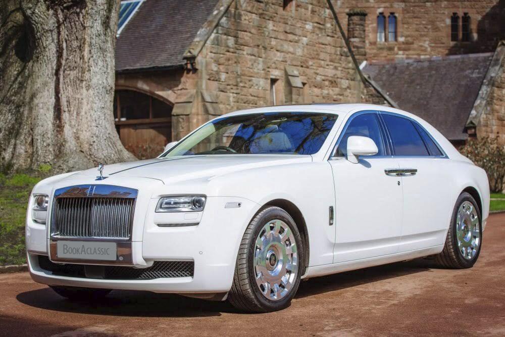 Rolls-Royce Ghost Hire London