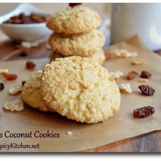 Cornflake Coconut Cookies.