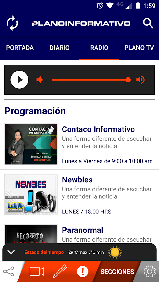 Plano Informativo- screenshot