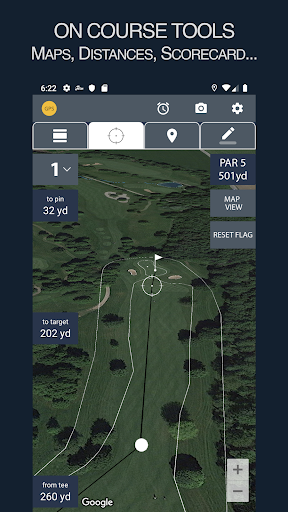 Fore™ - Golf Game Tracking screenshot 1