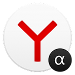 Yandex Browser Alpha v16.2.2.7453