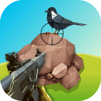 Hunting Birds. Angry Shooting Game