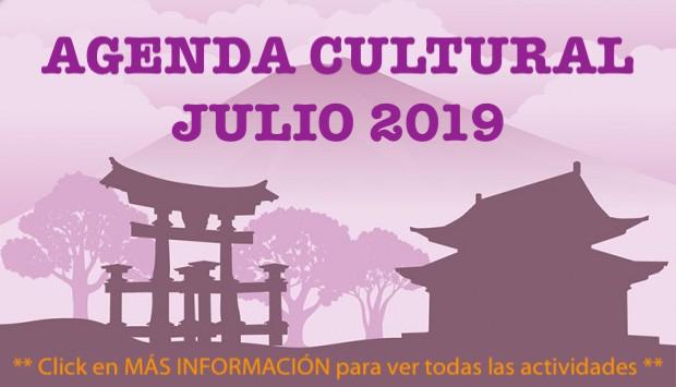 Agenda Cultural - Julio 2019