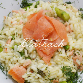 Asparagus and Salmon Risotto Recipe