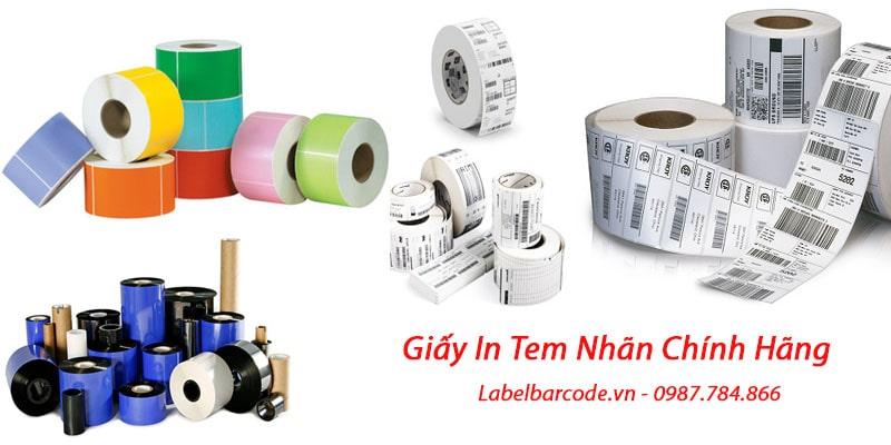 Tổng kho giấy in tem nhãn mã vạch full kích thước và chất liệu