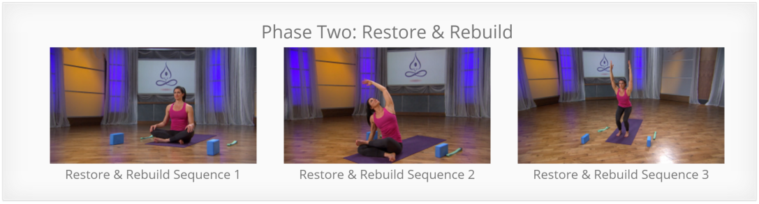 Yoga for Pain Relief - Restore and Rebuild for Back Pain