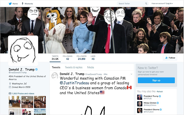 Twitter Sans Trump