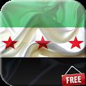 Flag of Syria Live Wallpaper icon