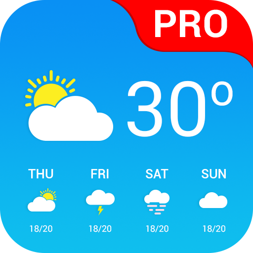 Weather App Pro Icon
