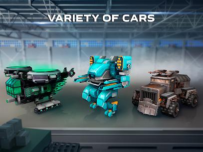Blocky Cars Apk Mod Munição Infinita 5