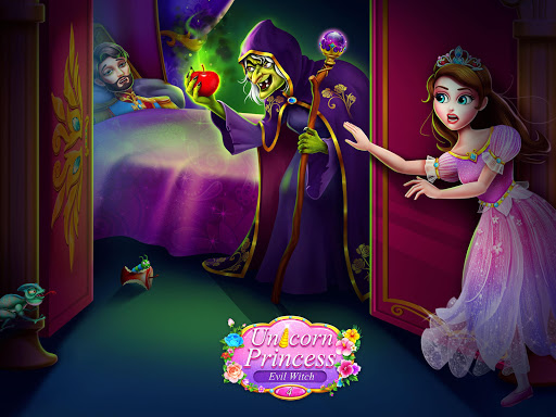 Unicorn Princess 4 u2014 Evil Witch Salon Game apkmr screenshots 1