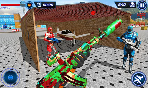 FPS Robot Shooter Strike: Anti-Terrorist Shooting apkpoly screenshots 5