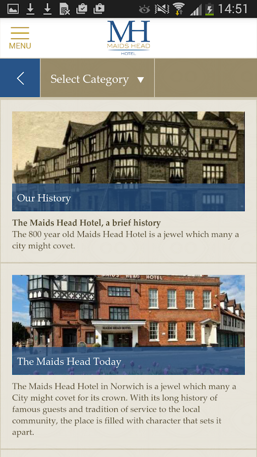 The Maids Head Hotel Norwich- screenshot