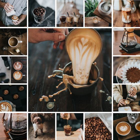 Coffee Collage - Instagram Post Template