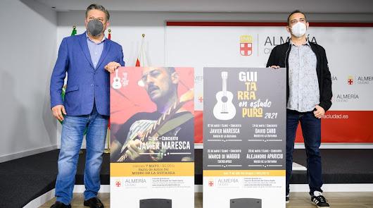 'Guitarra En Estado Puro': clínics y conciertos con maestros de las seis cuerdas