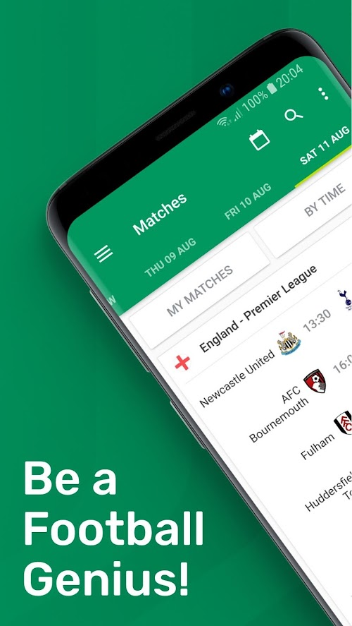 Screenshot 1 FotMob - Live Soccer Scores 88.0.5796.20181122 APK PAID