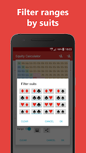 Poker Equity Calculator Pro für No Limit Hold'em Screenshot