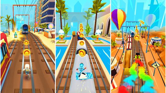 ดาวน์โหลด Subway Surfers (MOD, Unlimited Coins / Key) ฟรีบน Android 8
