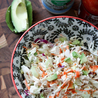 Buffalo Chicken Slaw Salad