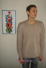 Photo: мужской вязаный свитер