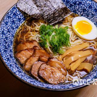 Instant Pot Pressure Cooker Shoyu Ramen Noodle Soup.