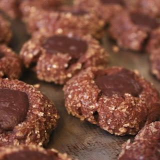 Chocolate-Mint Thumbprints