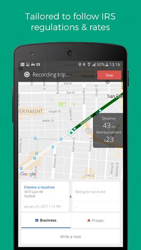Mileage Tracker on Autopilot by Driversnote screenshot