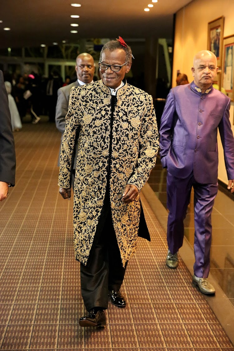31deb40921607 Buthelezi gives R90'000 birthday suit back to Durban designer